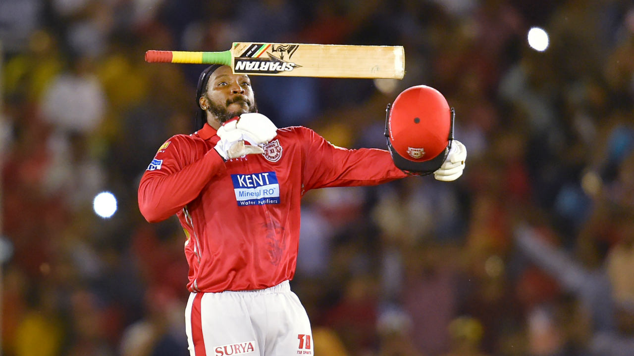 Chris Gayle Kings XI Punjab KXIP IPL 2018