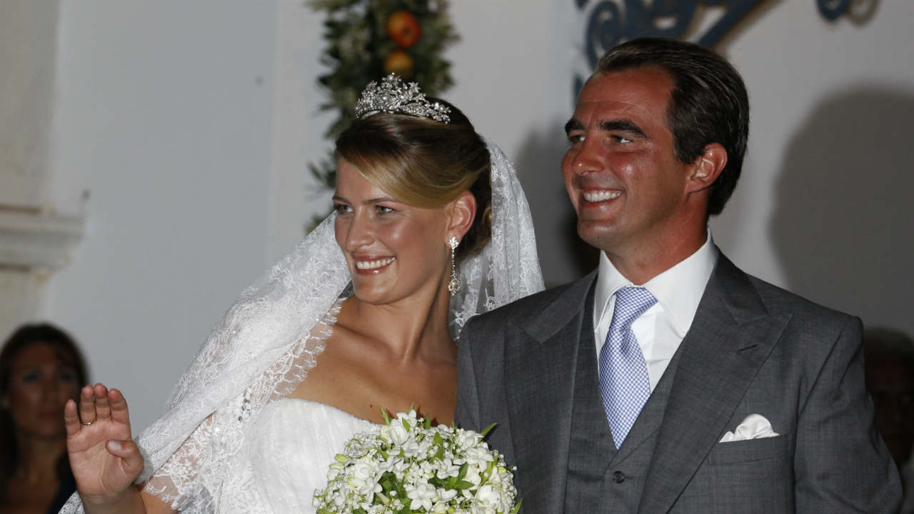 The Prince and Princess of Greece | Tatiana Blatnik was an event planner for fashion designer Diane von Furstenberg before her marriage to Prince Nikolaos, the son of Greece's deposed King Constantine, in 2010. (Image: Reuters)