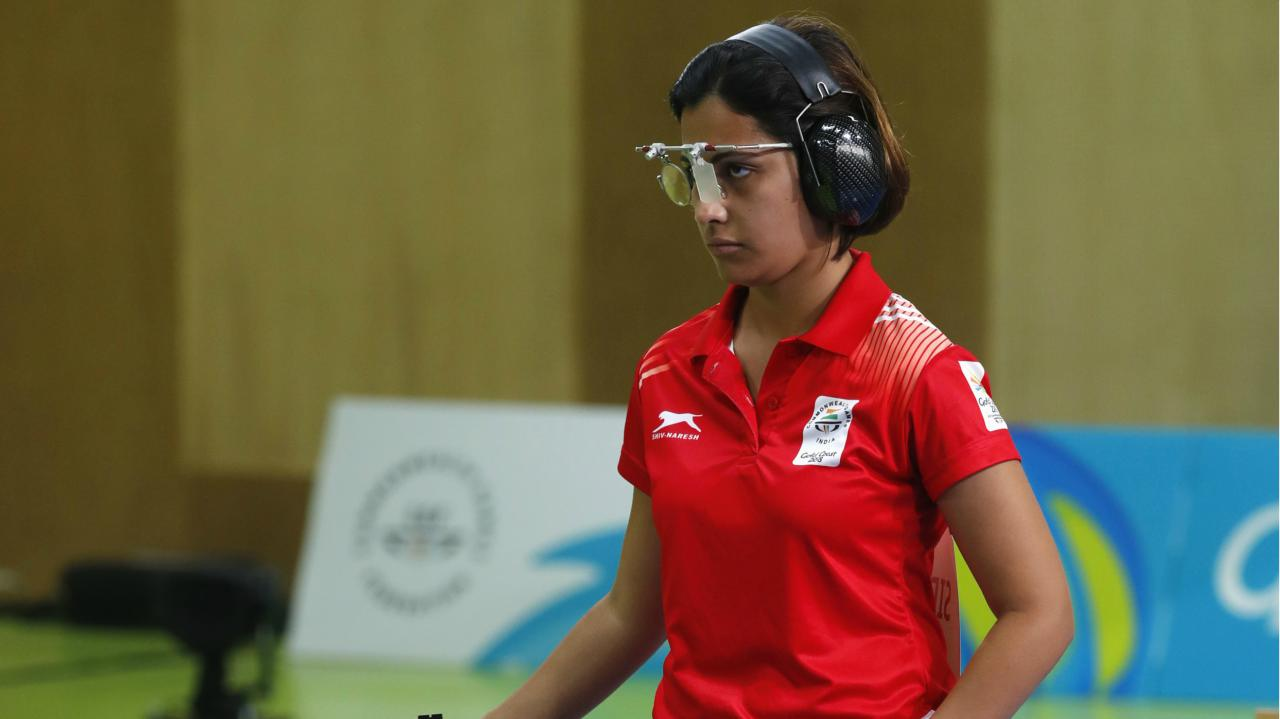 Heena Sidhu | Champion shooter Heena Sidhu finally got over a below-par performance in the 10m Air Pistol event and clinched 11th gold for India in the 25m Pistol event. With a mark of 38, Sidhu who hails from Punjab, created a new Games record and saw away the challenges of Australia's Elena Galiabovitch who had to be content with silver and Malaysia's Alia Sazana Azahari who bagged the bronze.