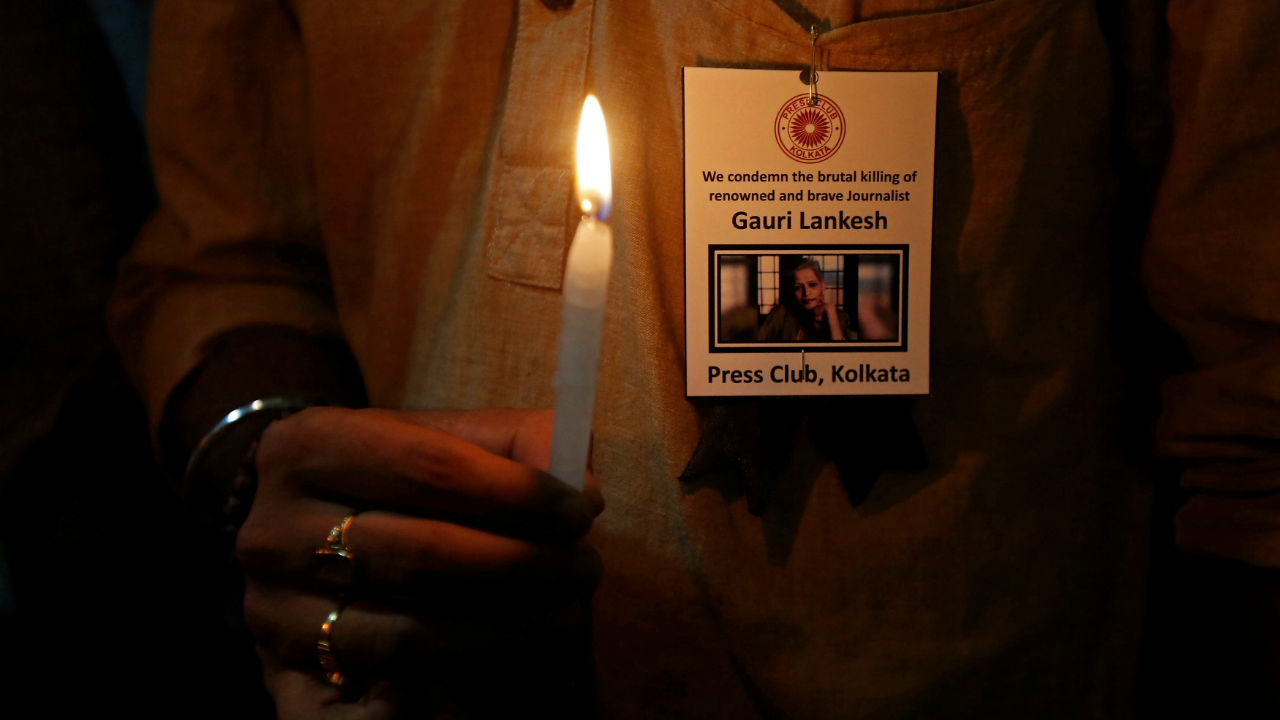 India | The country was ranked at the 135th spot in 2017, dropped to the 138th spot this year. The report mentions that at least four journalists have been gunned down in India in the previous year, with the Modi government at the helm of affairs. (Image: Reuters)