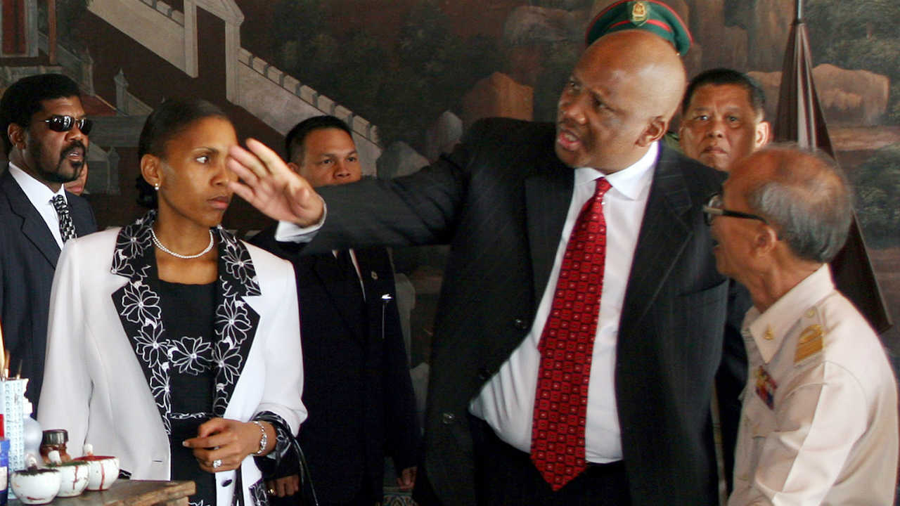 The King and Queen of Lesotho | Masenate Mohato Seeiso is the wife of King Letsie III. She was the first commoner to marry in to the royal family of Lesotho. The couple were married on February 18, 2000. (Image: Reuters)