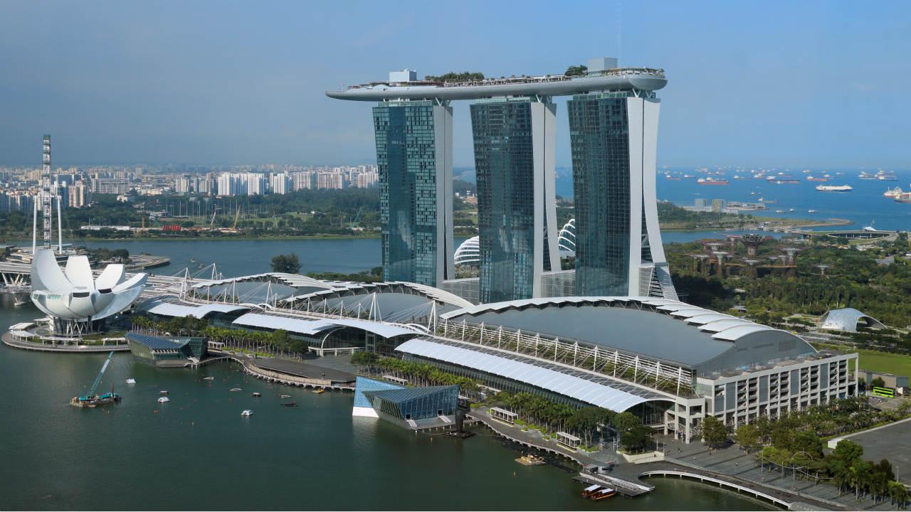 2. Marina Bay Sands (Resort) | Location: Singapore | Cost of construction: USD 5.5 billion (Photo: Reuters)