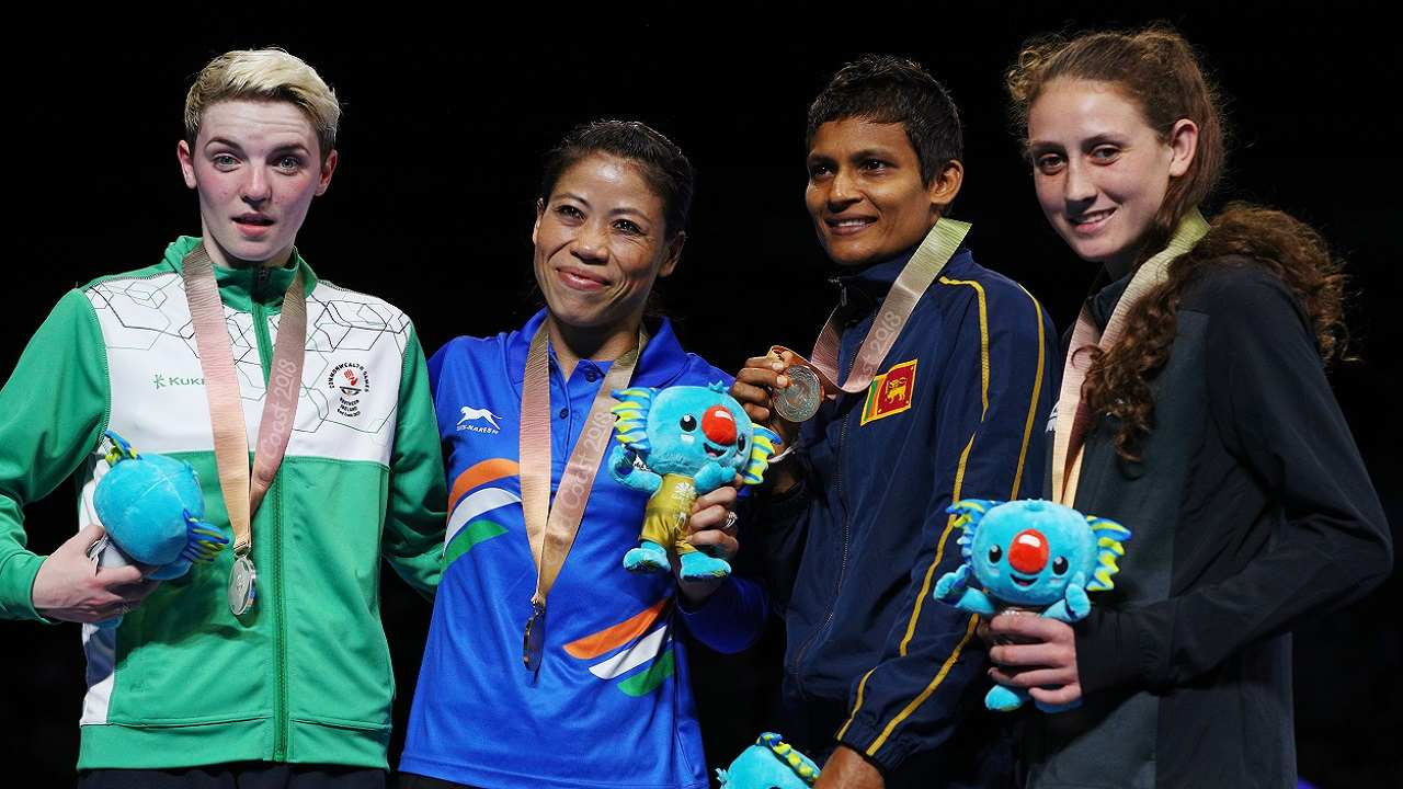 Mary Kom | The legend of M C Mary Kom (48kg) grew larger as she added the Commonwealth Games gold to her packed medal cabinet, thrashing Northern Ireland's Kristina O'Hara in the final.