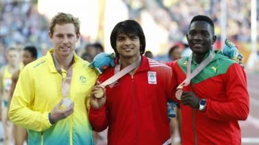 Neeraj Chopra wins gold in javelin throw at CWG