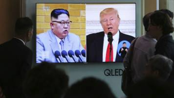 June 12 North Korea summit 'may not work out': Donald Trump