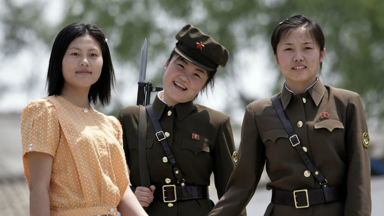 Are absolutely North korea kim jong un women