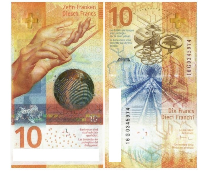 The annual contest for the best banknote of the year, run by the International Bank Note Society (IBNS), has chosen the 2017 winner. The bill shows a pair of hands conducting an orchestra and a tiny map of the country's train system—which, the press release notes, is a nod to national punctuality. Which country has won it?
