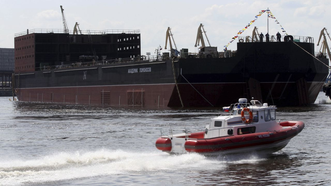 """Rosatom's project has branded as a """"floating Chernobyl"""" by Greenpeace. (Image: Reuters)"""
