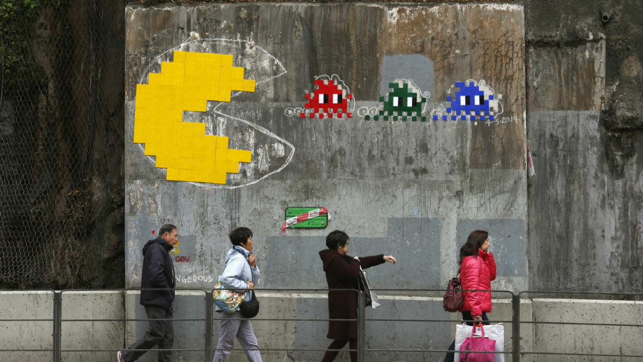 Answer: Pac-Man (Image: Reuters)