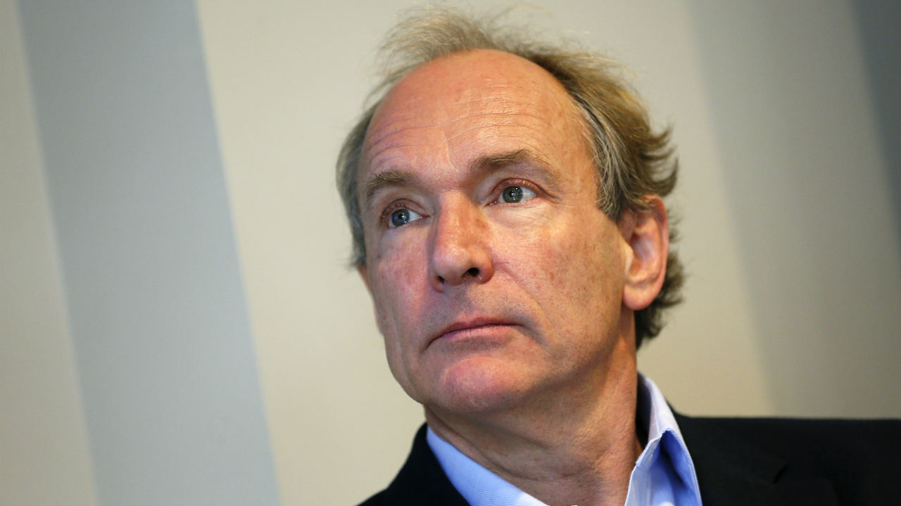 "Answer: Sir Timothy ""Tim"" John Berners-Lee, World Wide Web (Image: Reuters)"
