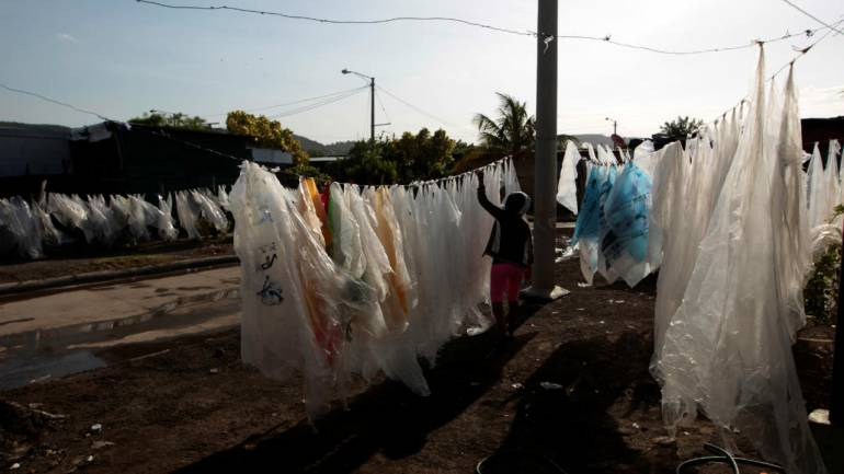 Answer: Plastic Bags (Image: Reuters)