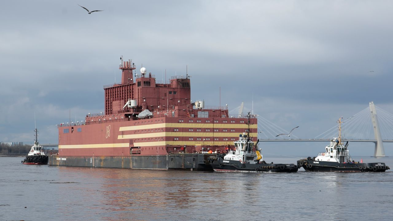 The floating nuclear plant is being criticised by environmental groups as they feel it poses a threat to the environment. (Image: Reuters)