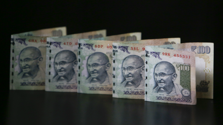 Indian Ru Recovers From Record Lows Up 9 Paise Against Us Dollar