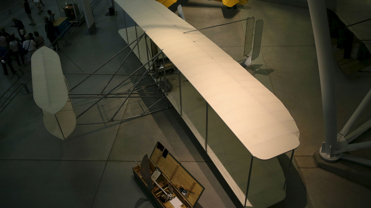 Q18. Who wrote an article on the Wright brothers, and their contribution to the world of flying, in Time magazine's special issue on the 100 greatest minds of the millennium? (Image: Reuters)