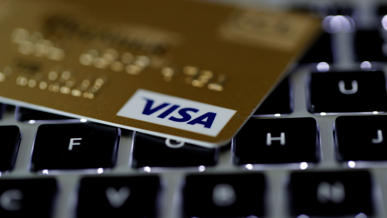Answer: Visa Cards (Image: Reuters)