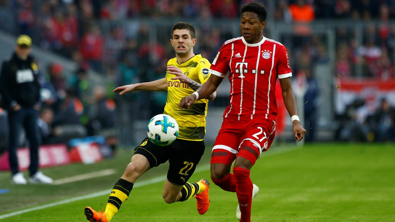 The Bundesliga: USD 5.35 billion | Sky Germany and EuroSport currently own the rights for the premier football league in Germany. The two broadcasters are paying USD 1.38 billion per year, for a deal running from 2017 to 2020. (Image: Reuters)
