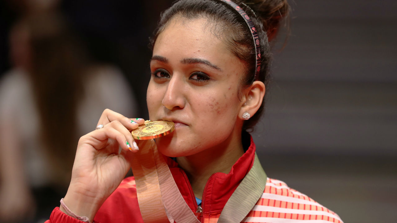 Manika Batra | Batra created history by becoming the first Indian woman table tennis player to win a singles gold at the Commonwealth. (Image: Reuters)