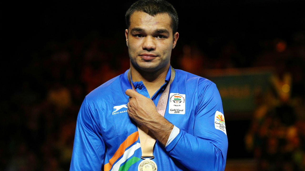 Vikas Krishan | Krishan defeated Cameroon's Dieudonne Wilfried Seyi Ntsengue in the 75kg category final with a 5:0 unanimous verdict, to clinch the gold medal. (Image: Reuters)