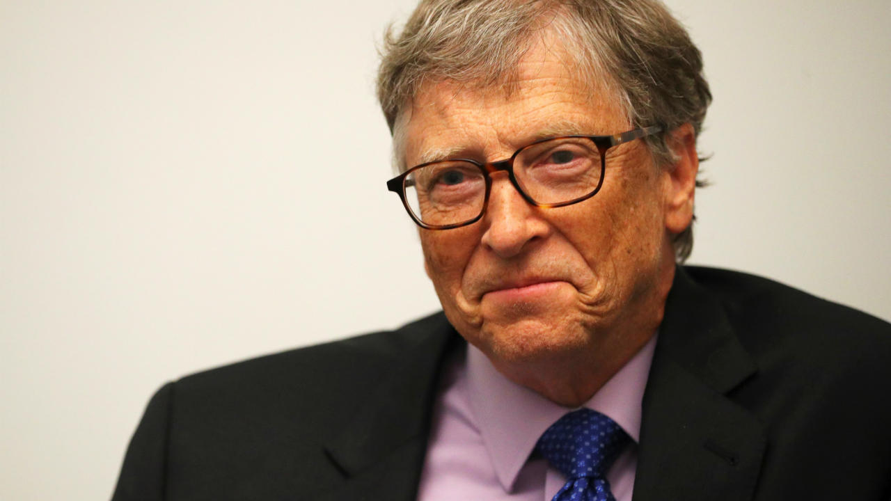 Answer: Bill Gates (Image: Reuters)