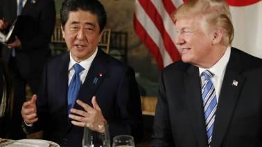 Trade, North Korea on agenda for Shinzo Abe-Donald Trump White House meeting April 26