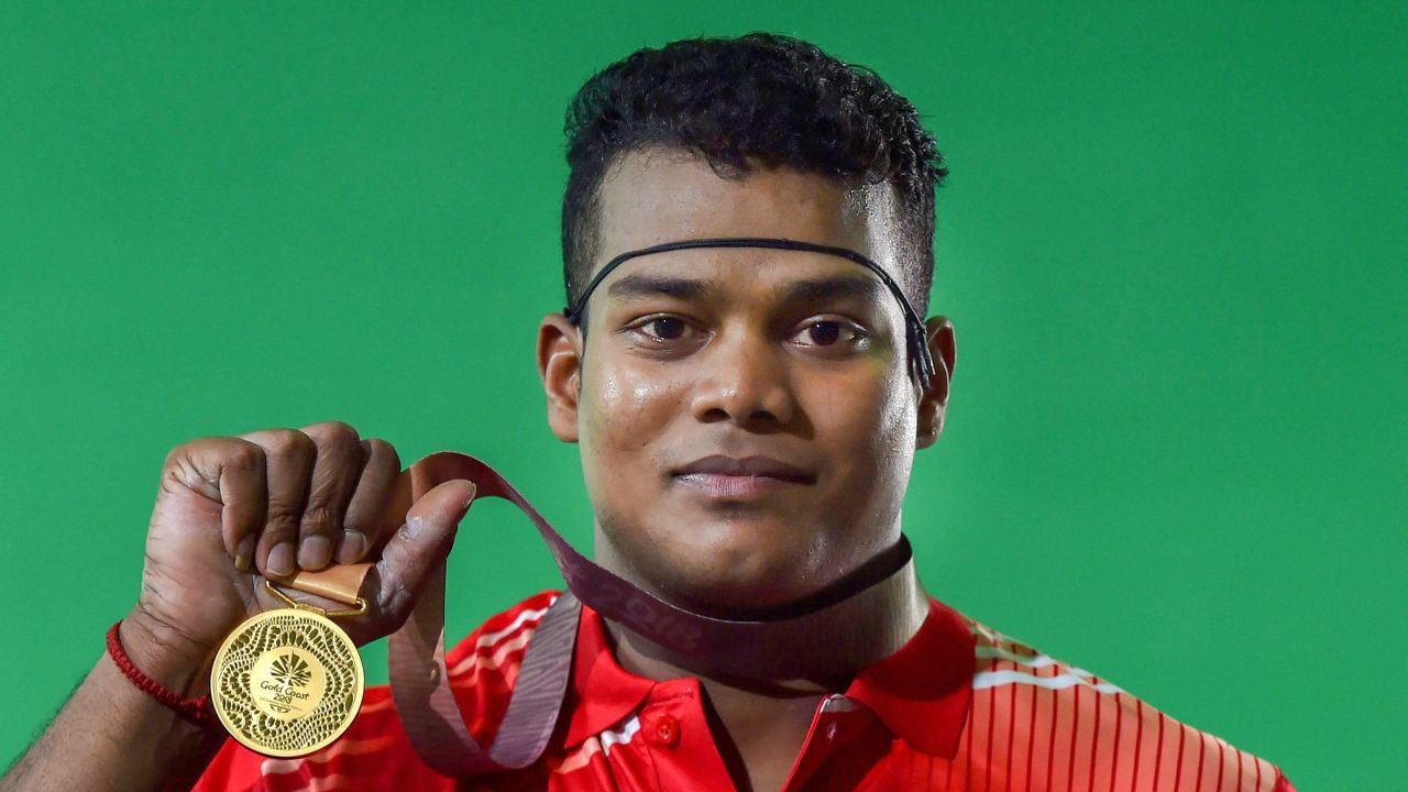 Venkat Rahul Ragala | The 21-year-old from Andhra Pradesh who is a Commonwealth Championships gold-medallist, lifted a total of 338kg (151kg in Snatch + 187kg in Clean and Jerk) in the 85kg weight category to finish on top and became the fourth weightlifter to bring gold for India.