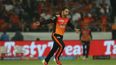 SRH vs KKR IPL 2018 Match Report: All-round Rashid Khan drives Hyderabad to final