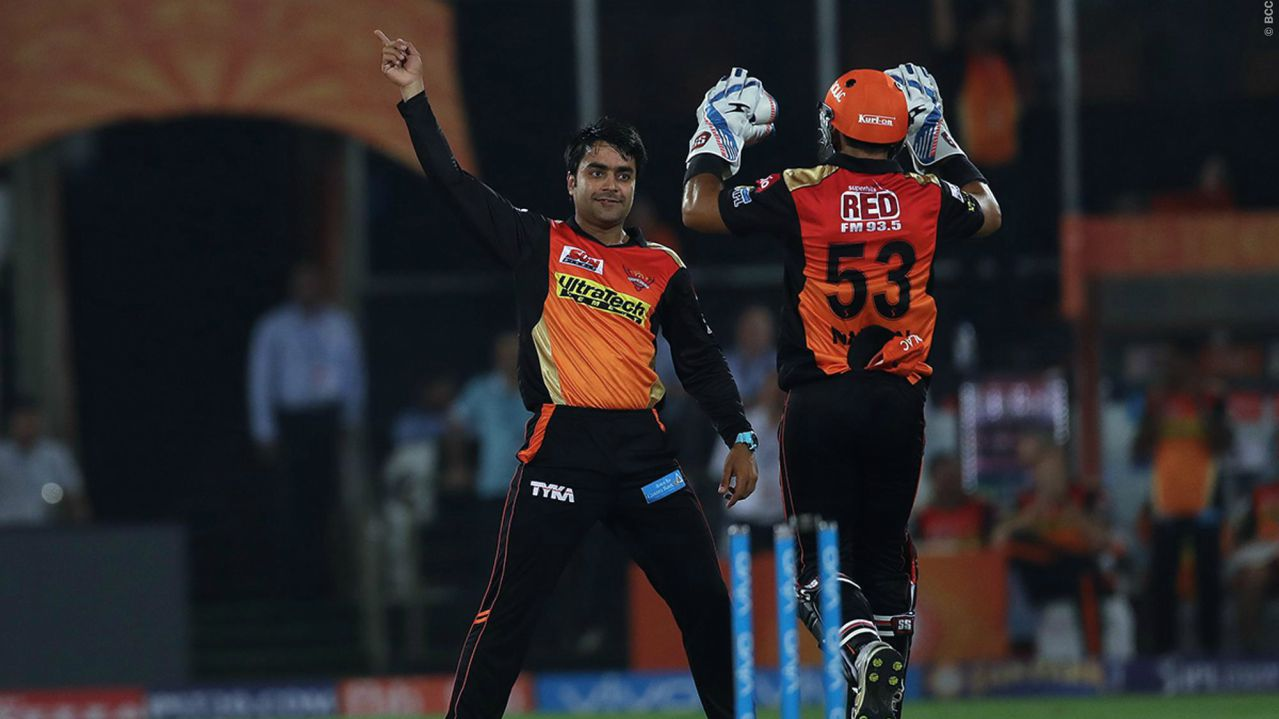 8. Rashid Khan | The Afghan leg spinner was picked up by Sunrisers Hyderabad for a whopping Rs 9 crore, who exercised their Right-to-Match option. (www.iplt20.com)