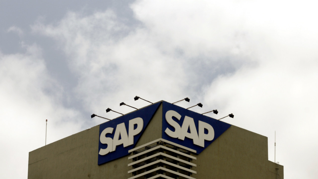 8. SAP | Offices: Bangalore, Chandigarh, Gurgaon, Kolkata, Mumbai and New Delhi | Pictured here is the SAP logo on their office building in Bengaluru (Photo: Reuters)