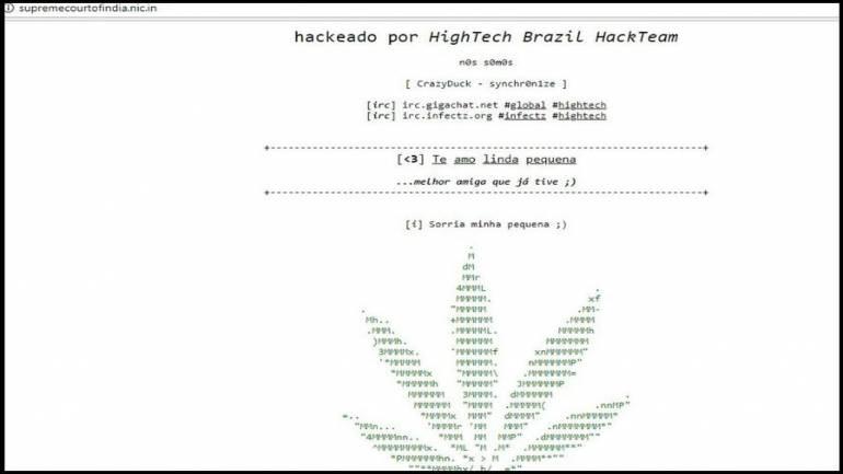 Image result for supreme court website hack