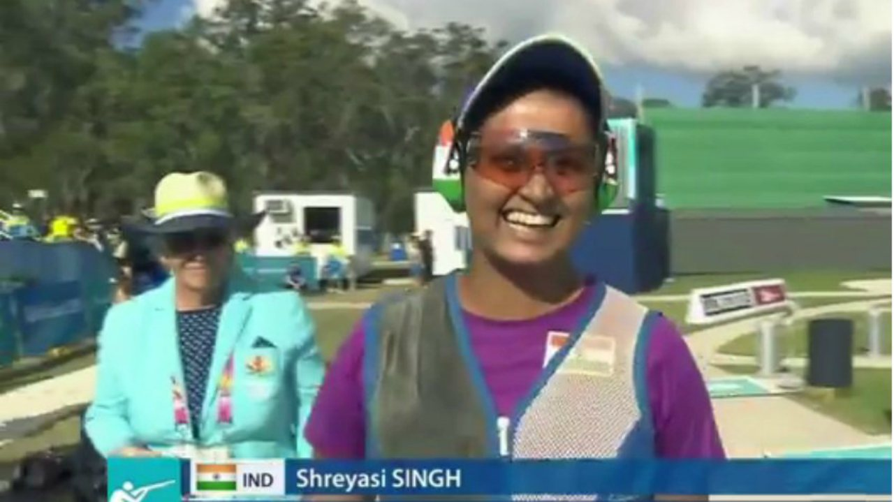Shreyasi Singh | The 26-year-old Delhiite improved upon her performance in Glasgow four years ago and clinched the 12th gold for India participating in the Double Trap event at Gold Coast. She went on an exceptional shooting spree in Round 4 to force a shoot-off as her competitor Australian Emma Cox, who was ahead of her in all previous rounds, could score only 18 points.