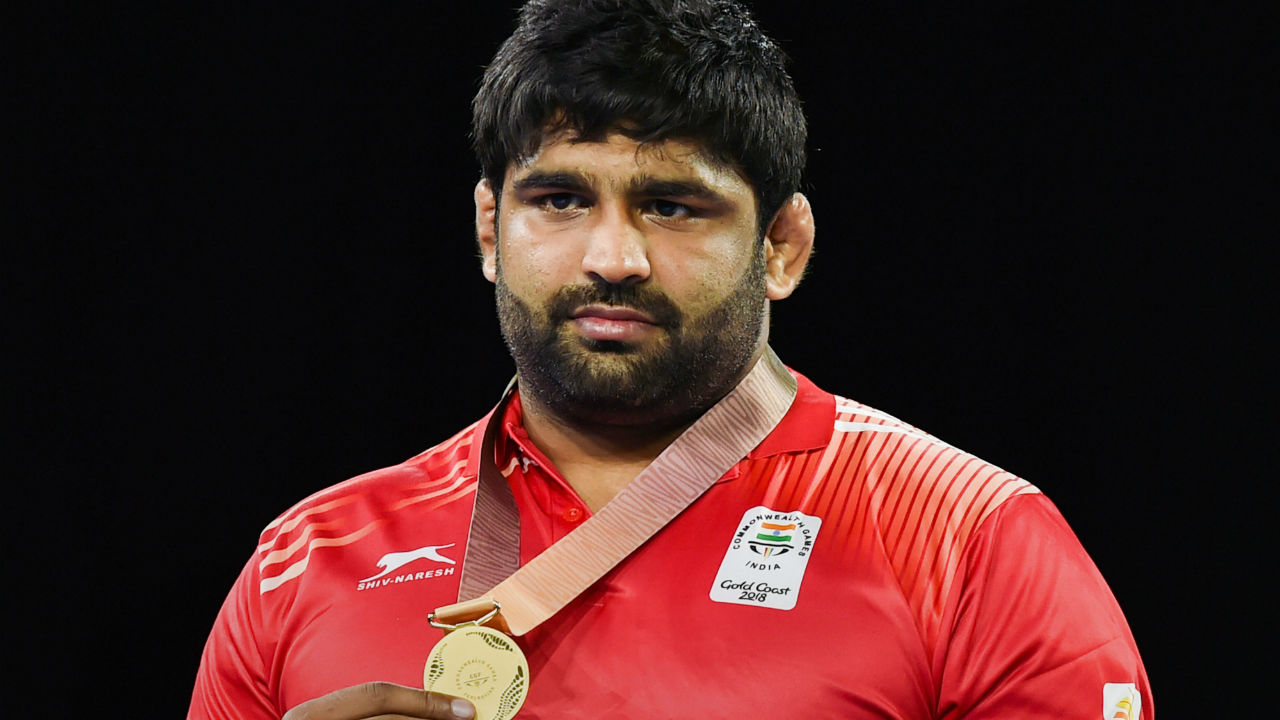 Sumit Malik | Kumar clinched Men's 125kg wrestling Nordic on Saturday at the Commonwealth Games 2018 in Gold Coast. (Image: PTI)