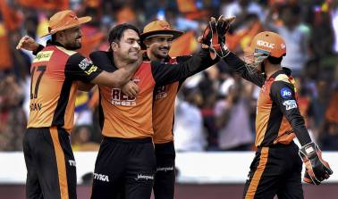 SRH vs KKR IPL 2018 Qualifier 2 Highlights: Rashid puts in a MoM performance as SRH win by 14 runs