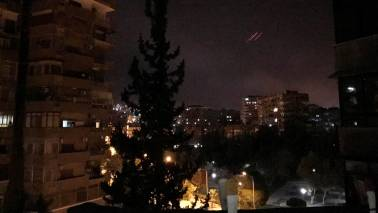US launches 'precision srikes' on Syria as UK, France join in