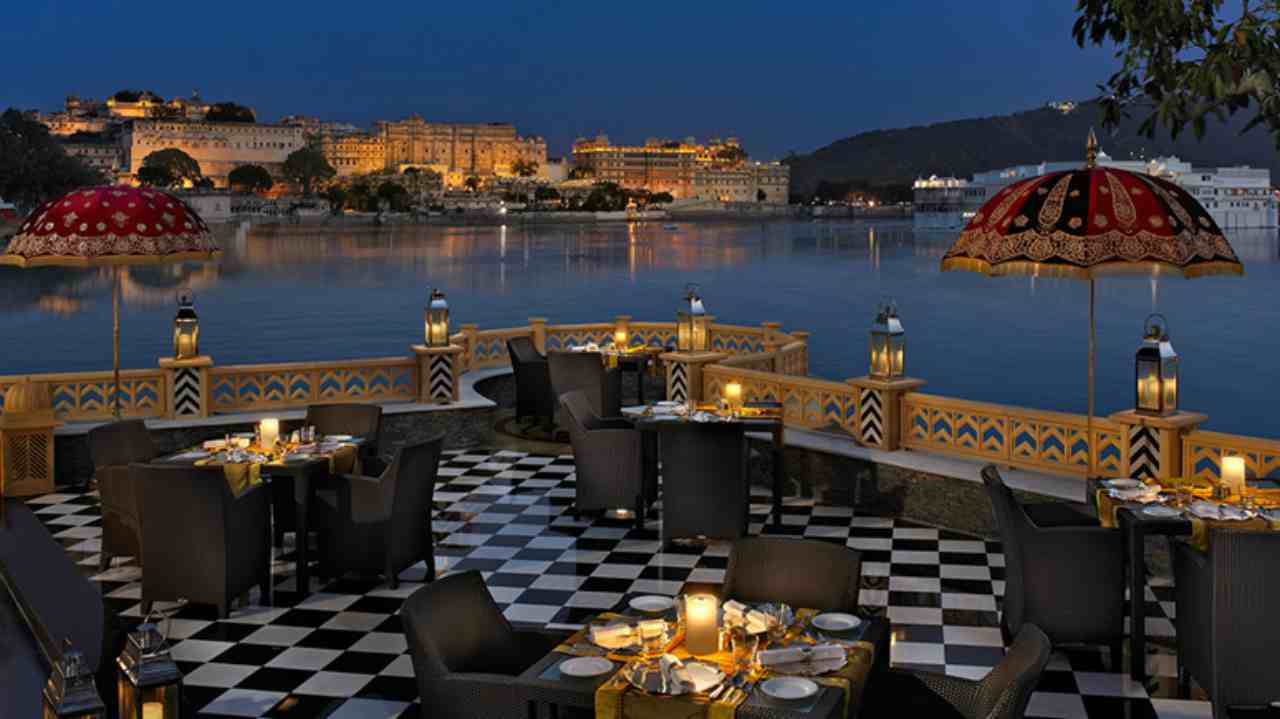 The Leela Palace Udaipur | The reign of Rajasthan's palaces is far from over and at the second position, travellers have crowned The Leela Palace. Like its competitors in the list, it is also located by the Lake Pichola. The hotel has the view of Aravalis from its windows and has all expected amenities in place.
