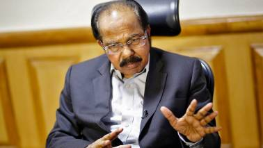 Exit polls were to boost stock market, disrupt Opposition unity: Veerappa Moily