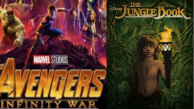 Avengers: Infinity War likely to earn Rs 100 cr in India, but can it  surpass highest Hollywood grosser The Jungle Book?