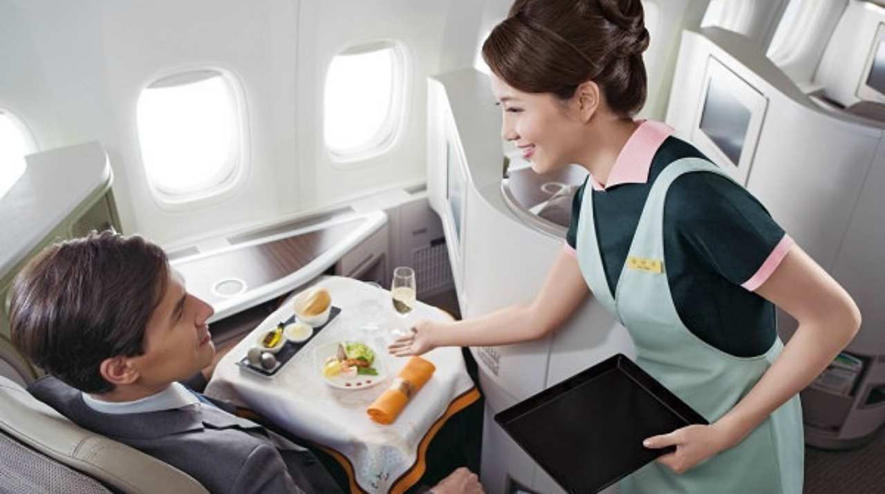 EVA Air | One of the only eight 5-Star Airlines named worldwide by international quality ratings organization Skytrax, the Taiwanese carrier flies to more than 60 destinations across the world. It has a fleet of 70 aircraft which include products of Boeing, McDonnell Douglas and Airbus.