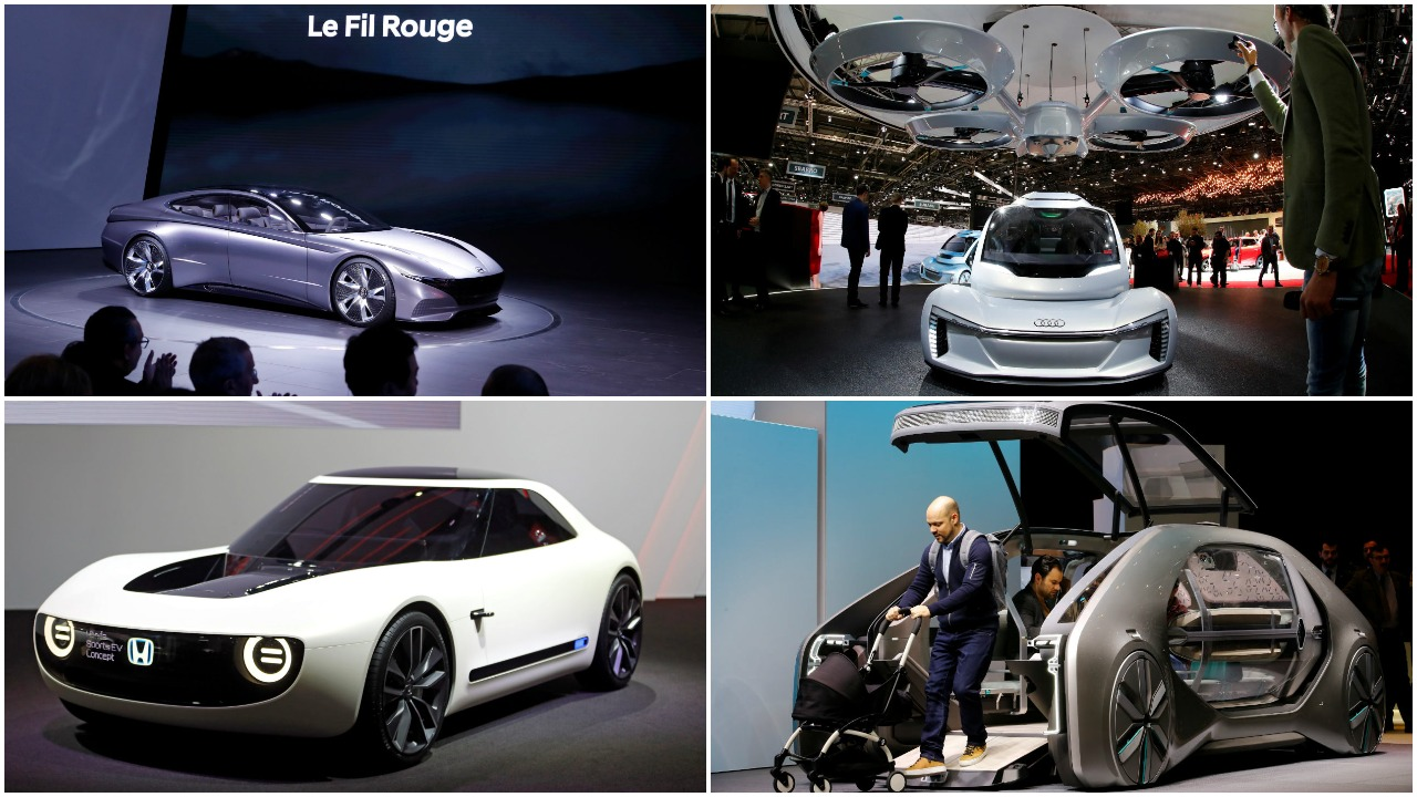 The annual Geneva Motor Show was held in the city of Geneva, Switzerland in early March this year. Here are some of the most popular cars showcased at the 10-day event. The focus remained on electric vehicles, the industry's latest trend. (Images: Reuters)