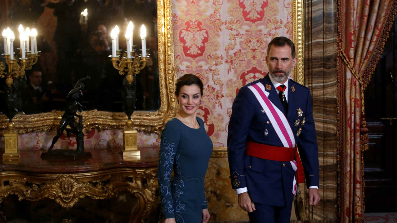 The King and Queen of Spain | Letizia Ortiz Rocasolano was a divorced journalist and well-known news anchor. She met King Felipe at a dinner organised by her journalist friend and dated in secret before marrying on May 22, 2004. She became Spain's first commoner queen in June 2014. (Image: Reuters)