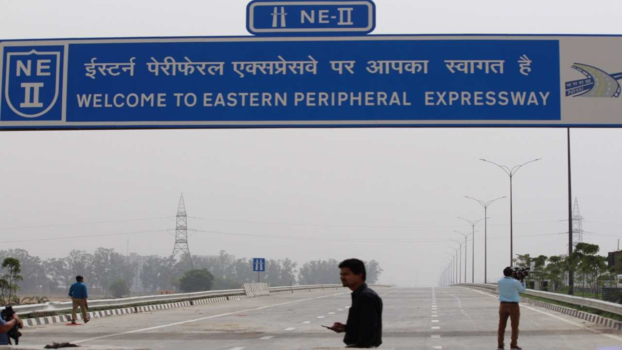 Union minister for road transport and highways Nitin Gadkari promised Delhiites that the national capital would soon breathe fresher air and a first step to realise that has been taken with the completion of the Eastern Peripheral Expressway. The expressway was inaugurated by Prime Minister Narendra Modi on May 27 and it is now open to public. Here's a sneak peek to the expressway before the launch.
