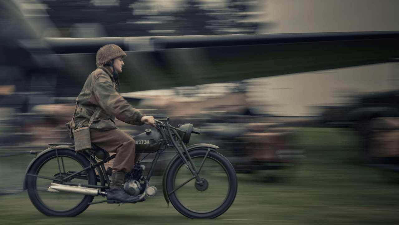 It pays homage to the iconic two-stroke RE/WD 125 motorcycle, popularly called the 'Flying Flea', used by British paratroopers in World War II, and manufactured at Royal Enfield's underground facility in Westwood, UK.