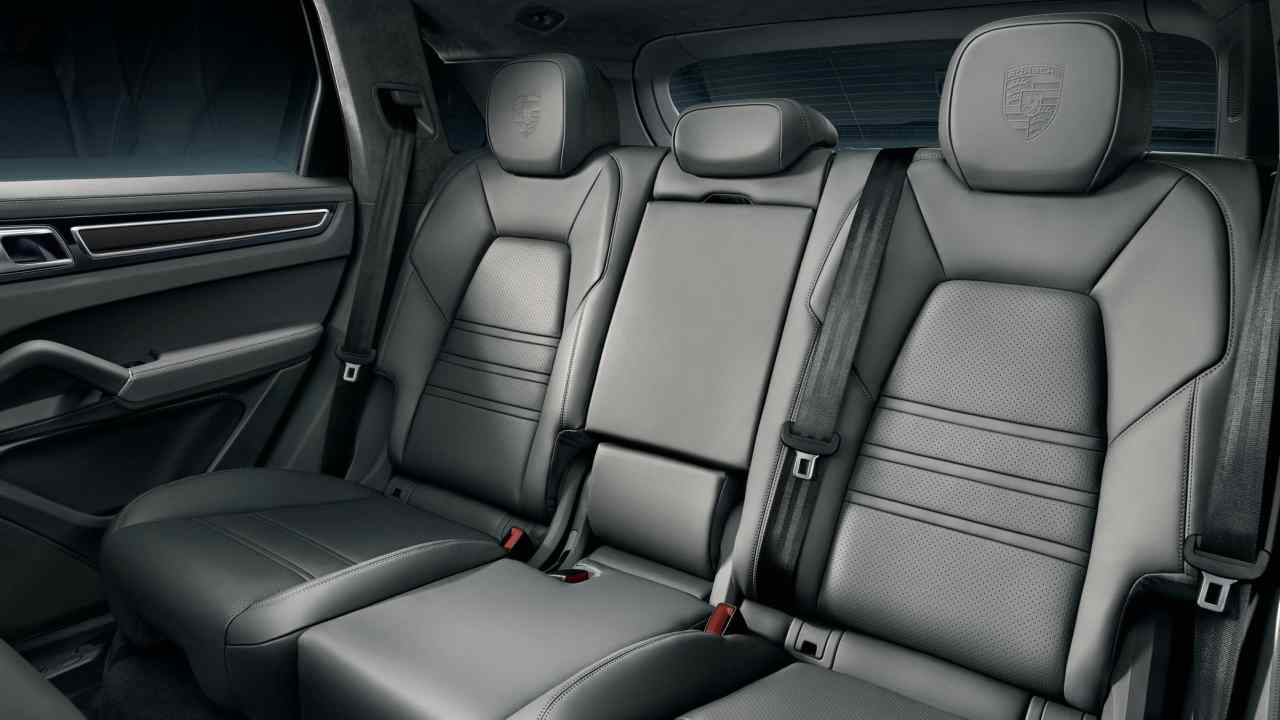 The trunk capacity in the SUV can be extended by folding up seats. Depending on adjustments, the volume of the trunk can be extended up to 1710 litres. The seats with elevated side bolsters are more comfortable and offer 10 adjustments positions to passengers. (All pictures sourced from Porsche's official website)