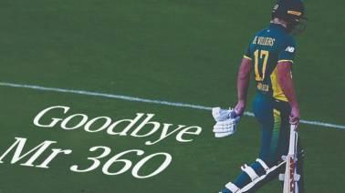 AB de Villiers bids adieu to international cricket