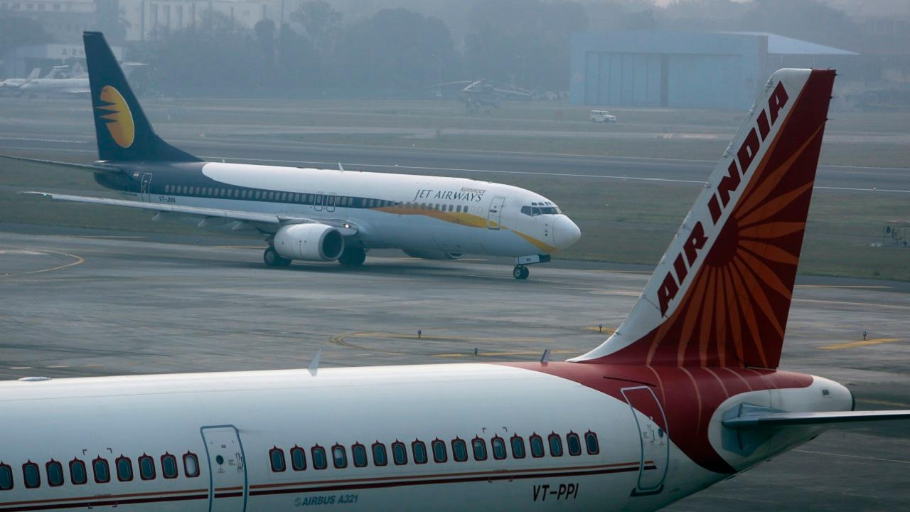 Air India & Jet Airways | India's state-owned carrier Air India doesn't make the cut in the top 10 but it gets the 13th place in the world among the most affordable airlines. Jet Airways is on the 12th spot. (Pictures: Reuters and Wikimedia Commons)