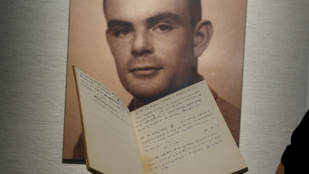 Answer: Alan Turing (Image: Reuters)