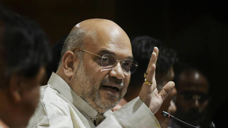Amit Shah arrives in Tamil Nadu, to pep up BJP workers