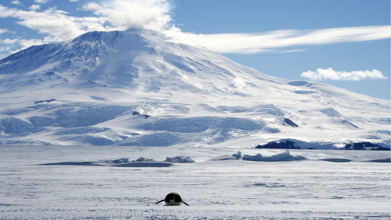 10. Mount Erebus, Antarctica | This is the southernmost volcano of the world. It has had continuous eruptions since 1972 and has a summit elevation of 3,794 meters. It is home to one of the few lava lakes of the world. (Image: Reuters)