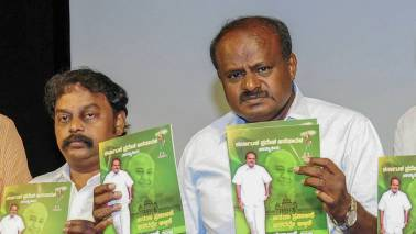 Kumaraswamy asks officials to cut down expenses after announcing farm loan waiver