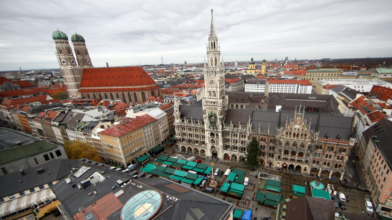 6. Munich | Highest-ranked institution: Technische Universität München | Population: 2,600,000 | Average international fees: $100 | Employer Activity rank: 23 (Image: Reuters)