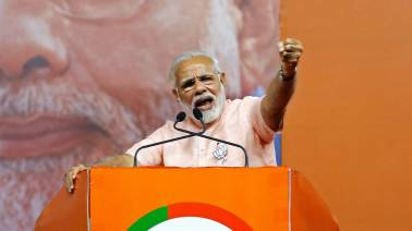 Modi rips into Congress for spreading 'lies and rumours' on Dalit, farmer issues
